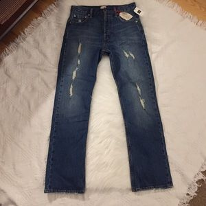 Gap Straight Leg Jeans Cone Denim High Waist